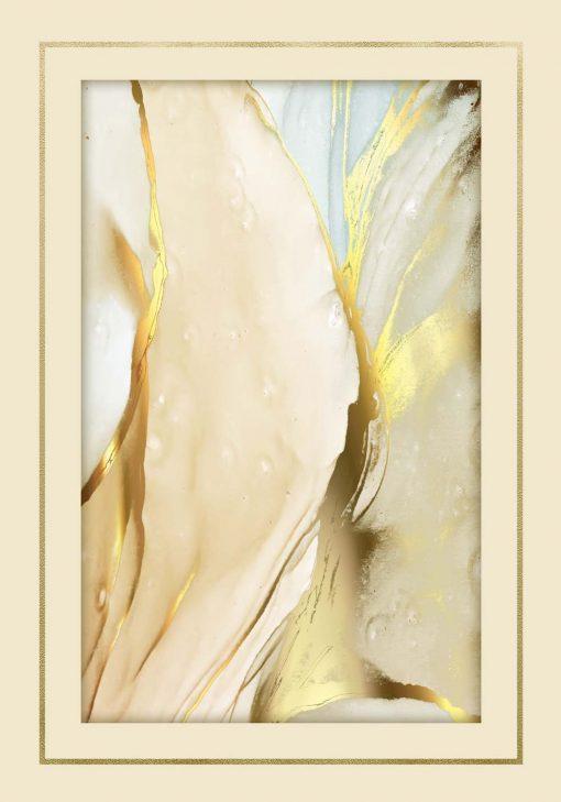 Piękny afisz ze złotym akcentem