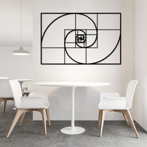 Dekoracja 3d - Fibonacci