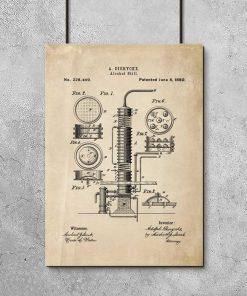 Patent na maszynę - poster