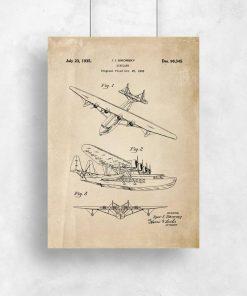 Patent na górnopłat - plakat