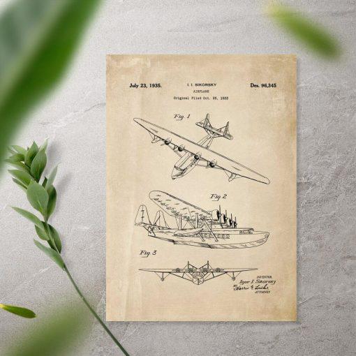 Projekt górnopłatu - poster