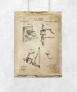 Plakat camera obscura - prototyp
