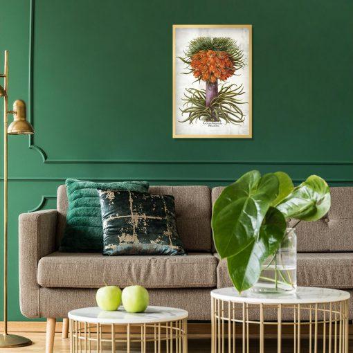 Cesarska korona - Plakat dla florysty do salonu