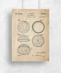 Plakaty z certyfikatem na urządzenie astronomiczne