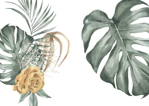 Dyptyk plakatowy z różą