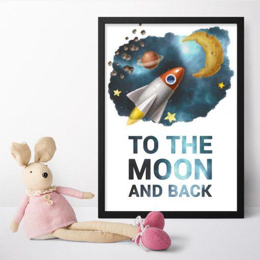 Plakaty dla dzieci z sentencją
