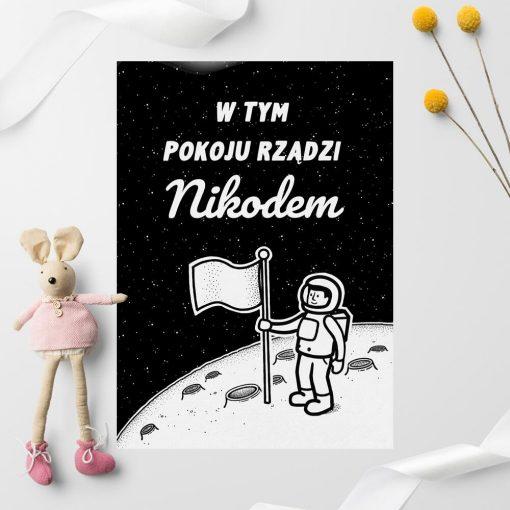 Spersonalizowany plakat z imieniem dziecka - podaj w uwagach