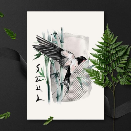 Plakat z napisem: soul do oprawienia