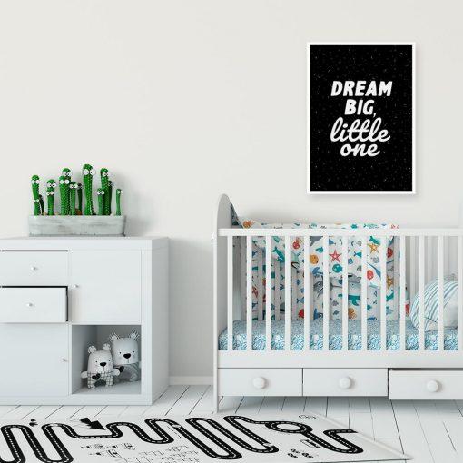 Plakaty dla dziecka w czarno-białych kolorach